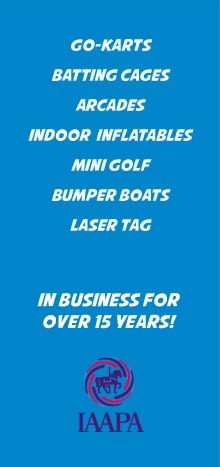 Go-Karts, Batting Cages, Arcades, Indoor Inflatables, Mini Golf, Bumper Boats, Laser Tag